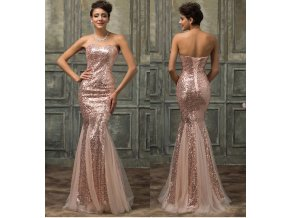 Zlaté společenské šaty, 32 - 44
