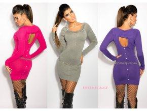Úpletové denní šaty, 7 barev, RYCHLÉ DODÁNÍ
