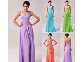 Společenské šaty na šněrování, 32 - 44