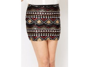 DESIGNERSKÁ aztécká sukně, k DODÁNÍ IHNED