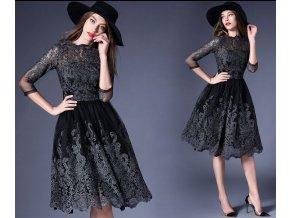 Luxusní společenské šaty, S, M, L, XL, XXL