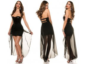 Černé společenské šaty, RYCHLÉ DODÁNÍ