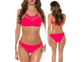 Dvoudílné hot pink plavky, RYCHLÉ DODÁNÍ