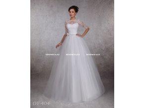 Svatební šaty s krajkovými rukávy, RYCHLÉ DODÁNÍ