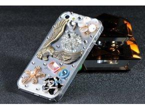* 03 LUXUSNÍ zdobené pouzdro na iPhone 5