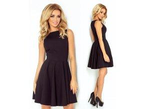 Černé koktejlové šaty SAF, S, M, L, XL
