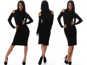 Černé šaty JELA LONDON, S, M, L, SKLADEM
