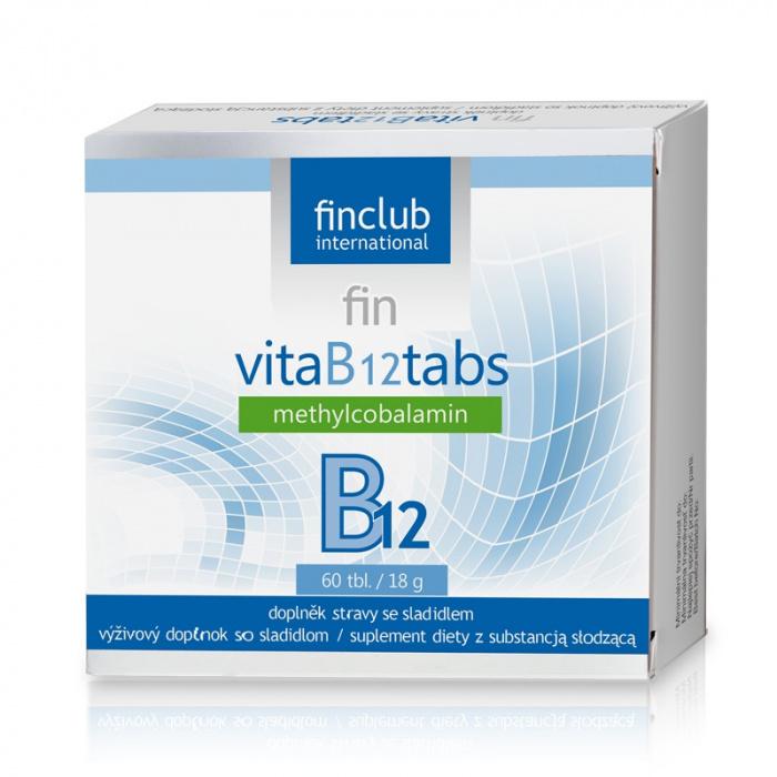 Finclub Vita B 12 tabs 60 tablet