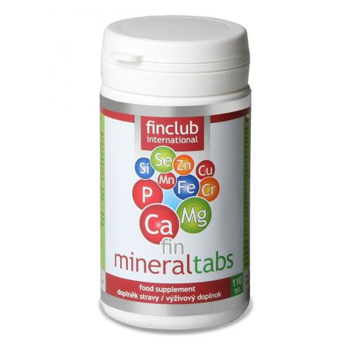 Finclub Fin Mineraltabs 110 tablet