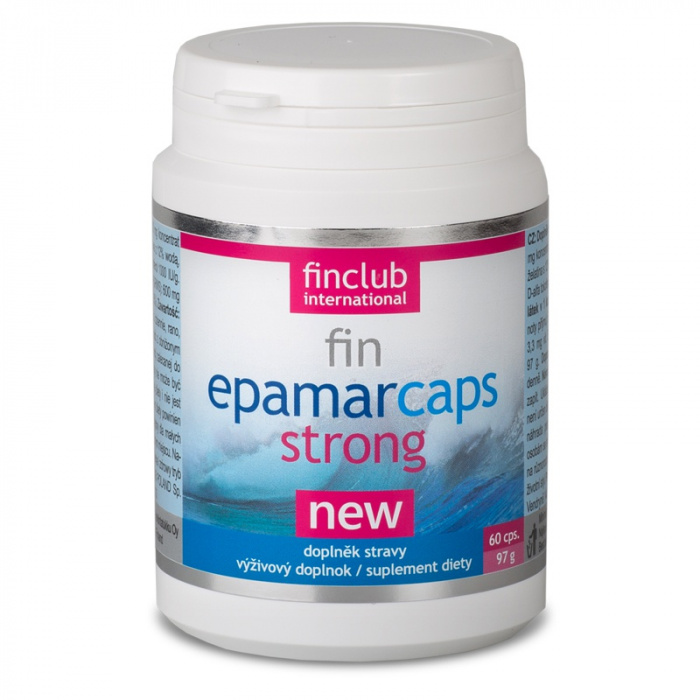 Finclub fin Epamarcaps Strong 60 kapslí