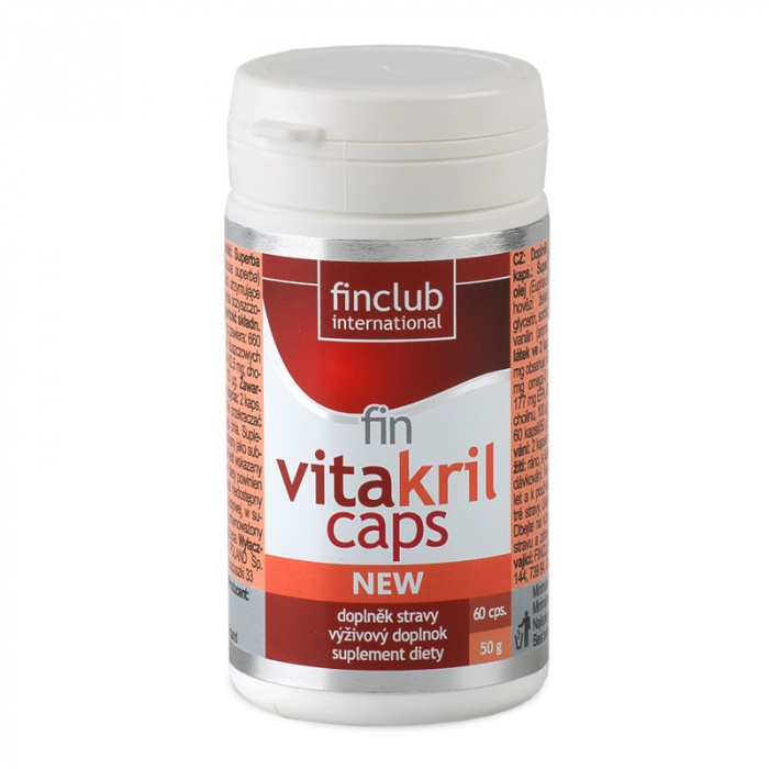 Finclub fin Vitakrilcaps 60 kapslí