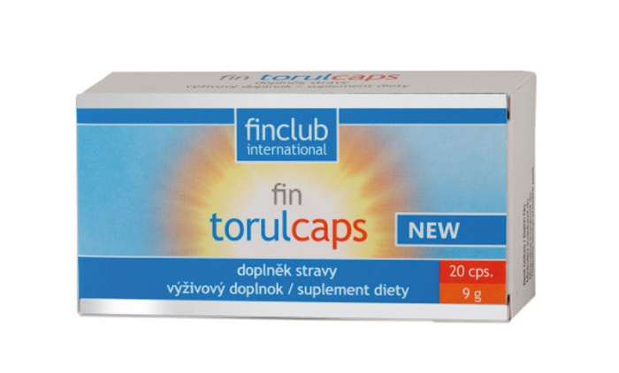 Finclub Fin Torulcaps New 20 kapslí