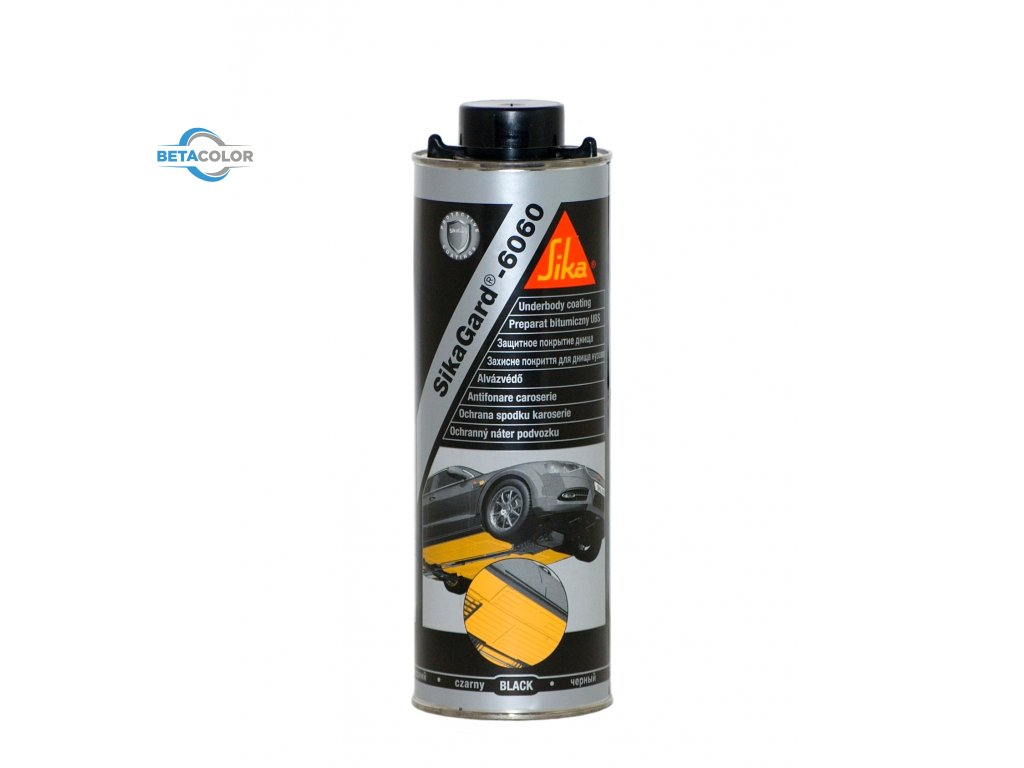 SIKAGARD 6060 ČERNÝ , 1l A  500ml Spray