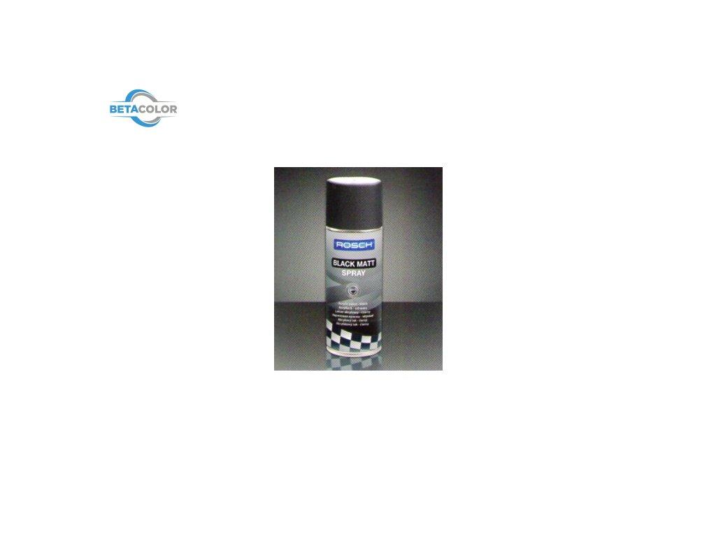 BLACK MAT SPRAY/ROSCH WHEEL SILVER SPRAY - 400ml