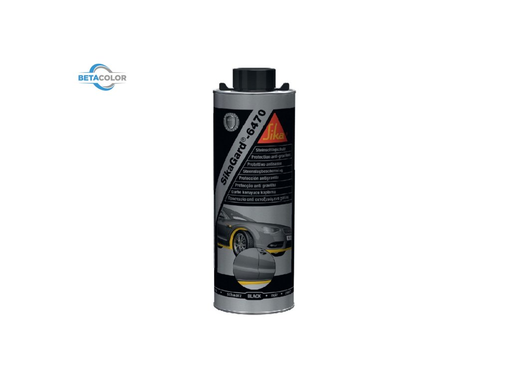 sikagard 6470 stone chip protection coating 1l 15012 p