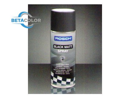 BLACK MAT SPRAY/ROSCH WHEEL SILVER SPRAY400ml