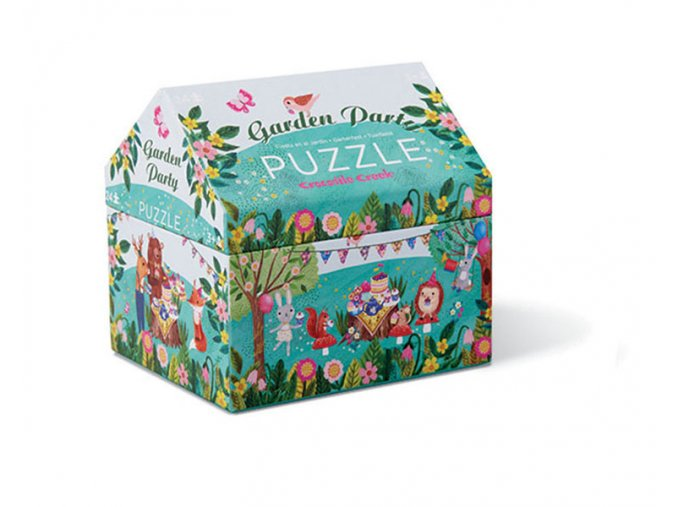 Mini puzzle chest - Garden Party (24 pcs)