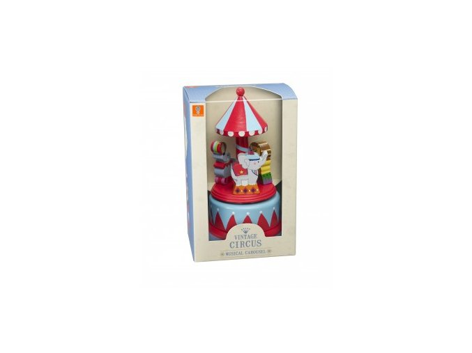 musical carousel circus packaging