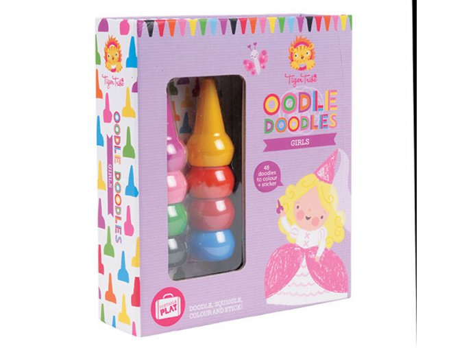 Oodle doodle crayon set - Daydream