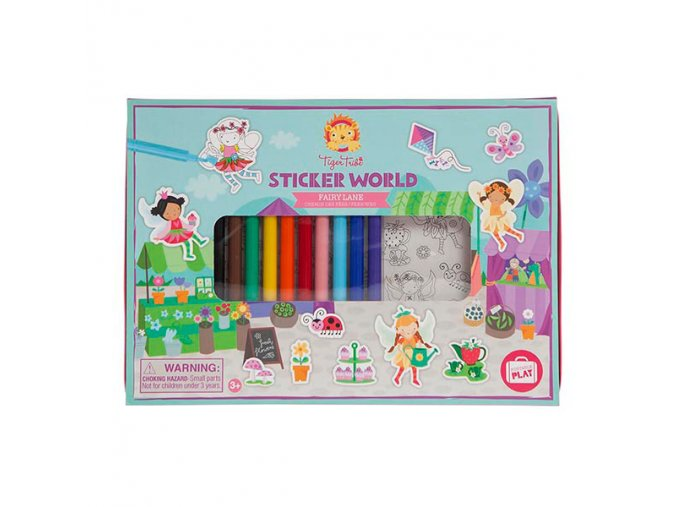 Stickers World - Fairy Lane