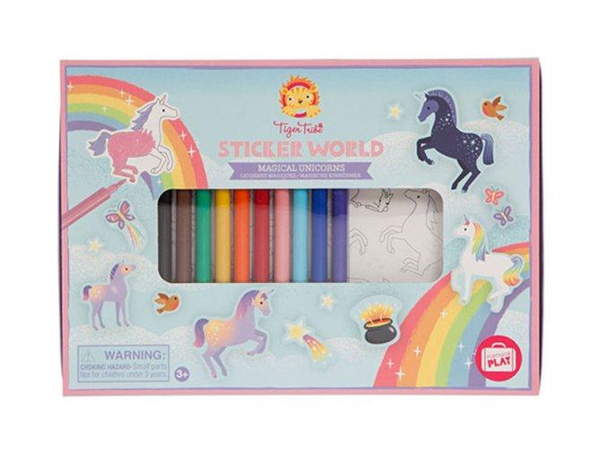 Stickers World - Magical Unicorns