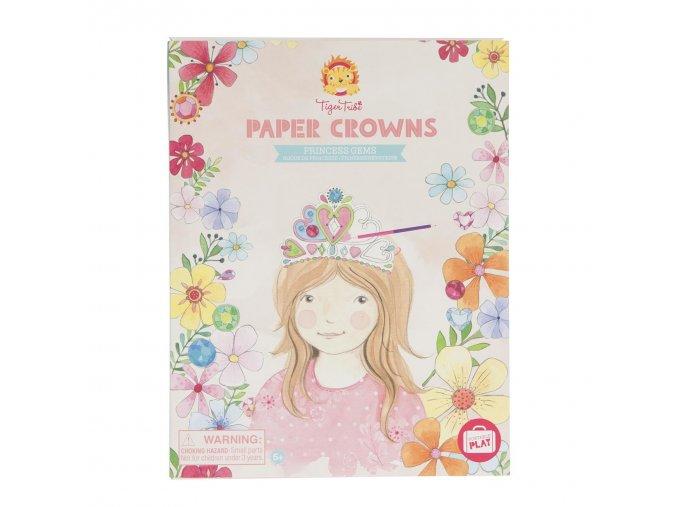 6779 paper crowns princess gems