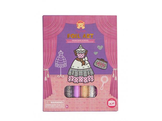 Foil Art - Princess Gowns / Foil Art - Šaty princezny