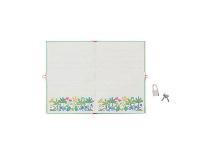 Locked Diary - Tropical Sloth