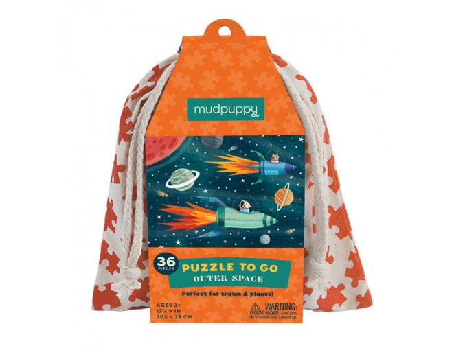 Puzzle To Go - Outer Space (36 pcs)