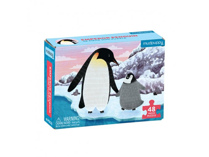 Puzzle Mini - Emperor Penguin (48 pcs)