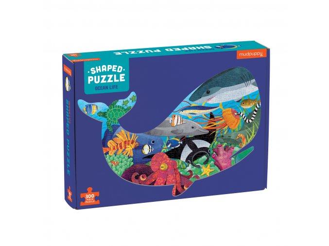 Shaped Puzzle - Ocean Life (300 pc) / Tvarované puzzle - Život v oceánu (300 ks)