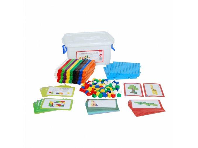 2cm Linking Cube Classroom Set (500  pc) / Spojovací kostky 2cm - Třídní set (500 ks)