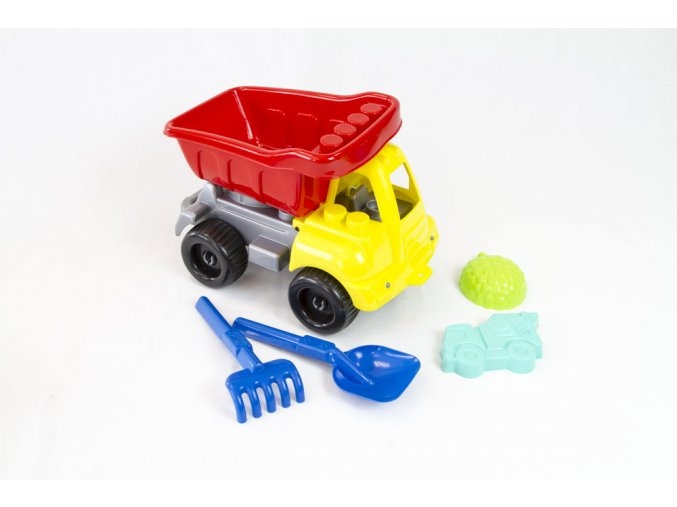 Super truck with accessories - 5 pcs
