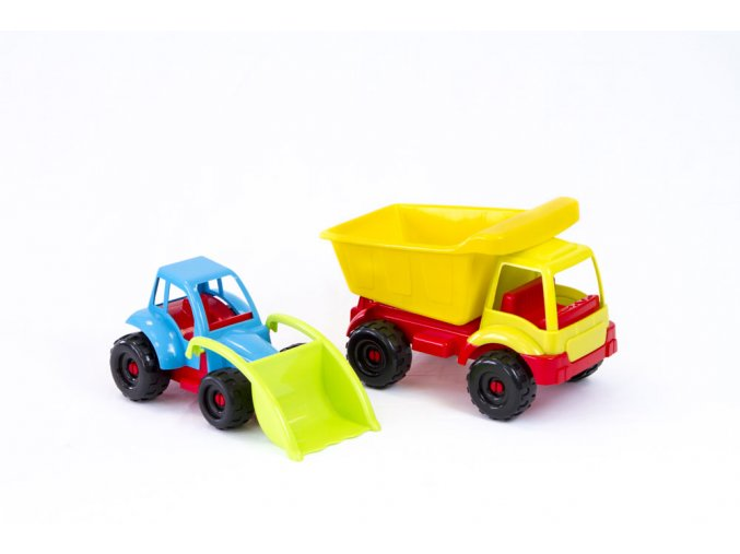 Truck with tractor - 2 pcs