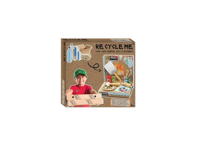 Set re-cycle-me pizza