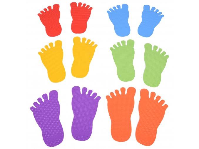 Foot Marks Set of 6 Pairs / Nožičky set 6 párů