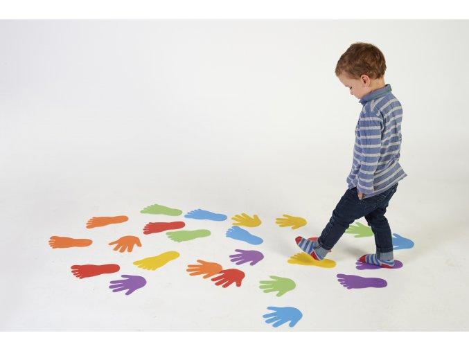 Foot Marks Set of 6 Pairs