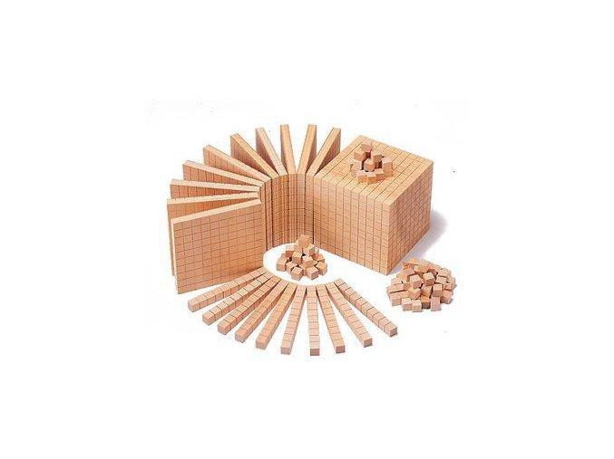 Wood Base Ten Set