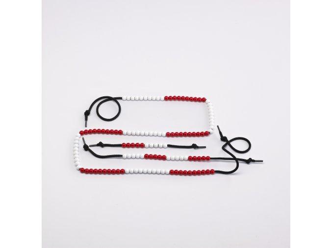 20 Beads Student Beadstrings (10 pc) / Korálky 20 ks na tkaničce - sada 10 ks