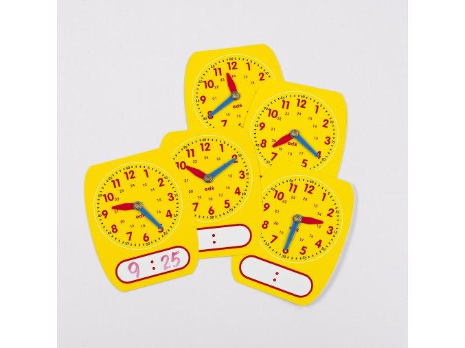24-hr Write-On/Wipe-Off Clock Dials (5)