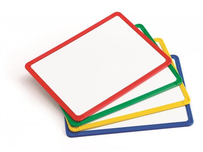 Magnetic Plastic Framed White Boards(4)