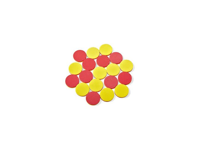 Plastic 2-Color Counters