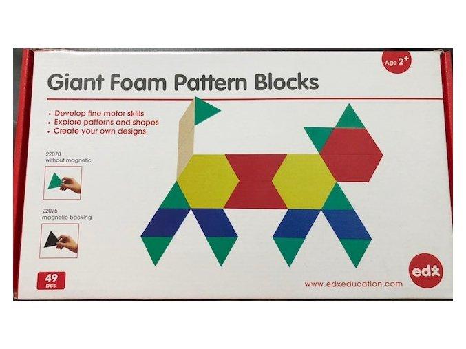 Giant Foam Pattern Blocks