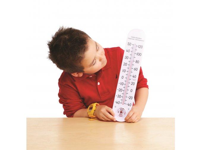 Indoor Outdoor Classroom Thermometer