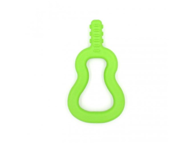 GUITAR Baby žvýkací pomůcka Soft Světle zelená