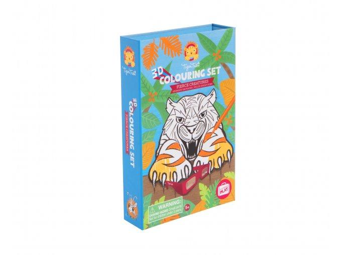 Fierce Creatures 3D Colouring Set 386 IMG 9857 HR