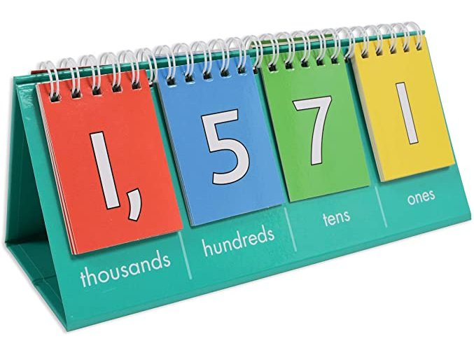 Place Value Flip Chart Student Size Thousand 1