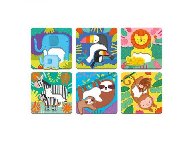 Match-Up Puzzle/Jungle Babies