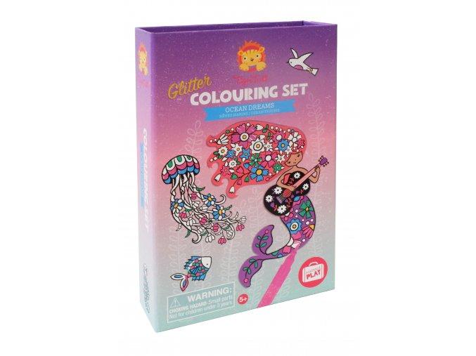 13233 glitter colouring sets podmorsky sen ocean dreams