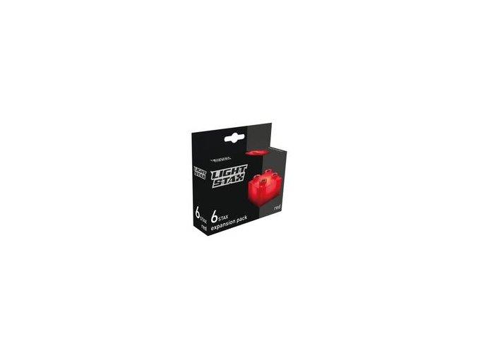 Light Stax rozšiřující set - červená 6 ks